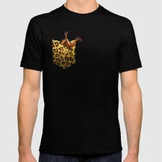 FASHION VICTIM SMALL Black Mens Fitted Tee