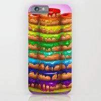 Donuts I 'Sweet Rainbow' iPhone 6 Slim Case