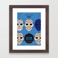 No621 My Heat Minimal Mo… Framed Art Print