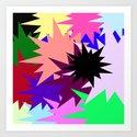 Big Stars Art Print
