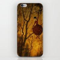 Pine Girl iPhone & iPod Skin