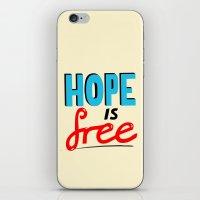 Free Hope iPhone & iPod Skin
