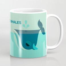 Be Nice to Whales Mug