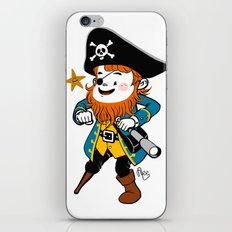 Pirate's Ahoy! iPhone & iPod Skin