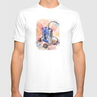 Vintage gadget series: Sony Walkman TPS-L2 Mens Fitted Tee White SMALL