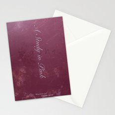 No. 2. A Study In Pink Stationery Cards