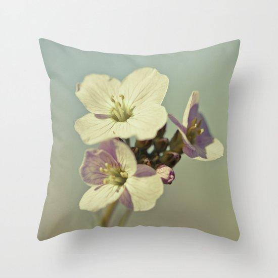 Cuckoo Flower 2 Throw Pillow