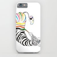 zebra iPhone & iPod Cases featuring Zebra by gunberk