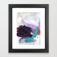 0 8 3 Framed Art Print
