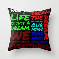WHAT IF Throw Pillow