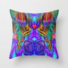 Aftershock-Lady Jasmine Throw Pillow