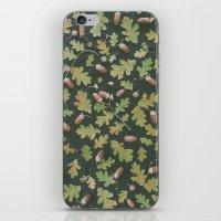Oak pattern iPhone & iPod Skin