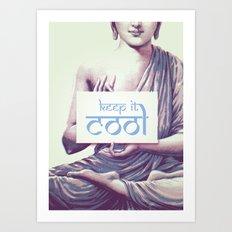 Keep it cool Art Print