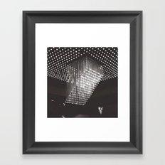 Stars Are Falling Framed Art Print