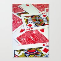 Deck Of Cards Canvas Print