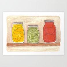 Canning Art Print
