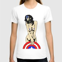 The second avenger Womens Fitted Tee White SMALL