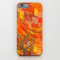 iPhone & iPod Case featuring Ode to Autumn by Lollis Werks