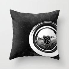 VW Beetle Throw Pillow