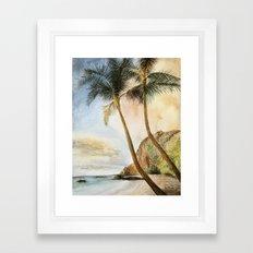 Palm Paradise Framed Art Print