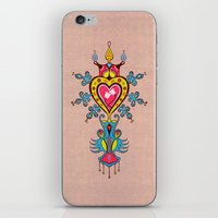 The Heart Rules iPhone & iPod Skin