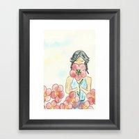 Aroma Framed Art Print