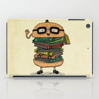 Geek Burger v.2 iPad Case