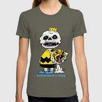 Happiness Is A Tiger Womens Fitted Tee Lieutenant SMALL