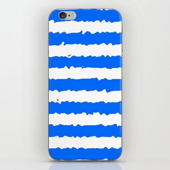 Blue Stripes iPhone & iPod Skin