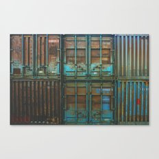Container rouille 5 Canvas Print