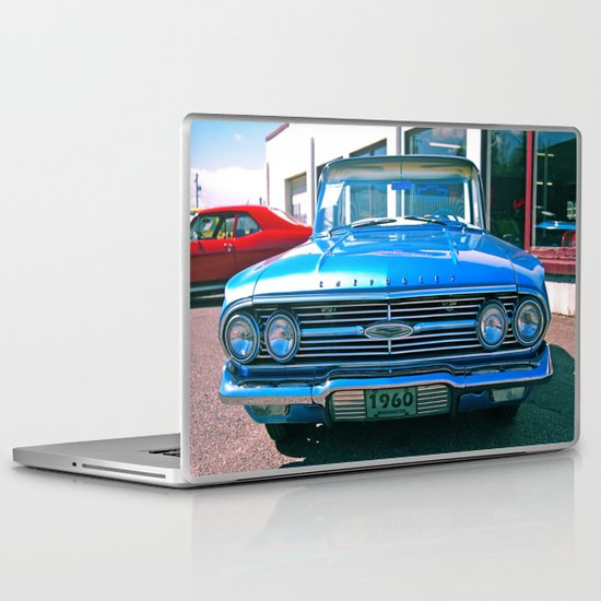El Camino details Laptop & iPad Skin