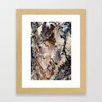 puzzle bark Framed Art Print