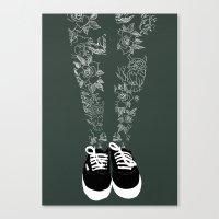 Inked. Canvas Print