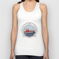 Port Hole View Unisex Tank Top