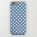 kanoko in monaco blue iPhone & iPod Case
