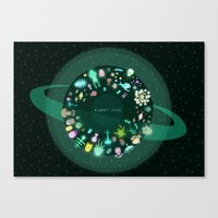 Planet Five Canvas Print