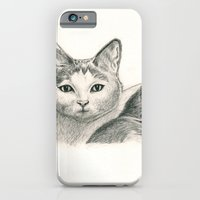 iPhone & iPod Case featuring Cat by Kim Jenkins