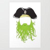Davy Jones Art Print