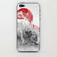 The Warrior And The Wind iPhone & iPod Skin