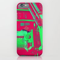 iPhone & iPod Case featuring Factory Red by Arturo Peniche