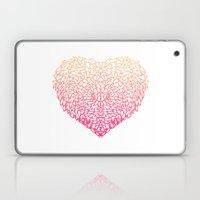 Pink Heart - Light White… Laptop & iPad Skin