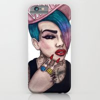 iPhone & iPod Case featuring VANITY & JEFFREE STAR by ArtEleanor