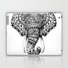 Ornate Elephant Head Laptop & iPad Skin