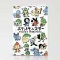 Pokemon Stationery Cards