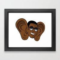Steak Fries Framed Art Print