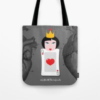 Off with their heads Tote Bag