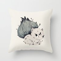 Plant Dude Throw Pillow