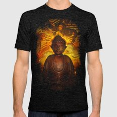 Concentric Burning Mens Fitted Tee Tri-Black SMALL