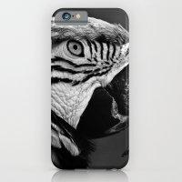 Black & White Parrot  iPhone 6 Slim Case
