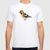oriole Mens Fitted Tee Ash Grey SMALL